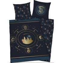 Modra posteljnina Harry Potter KOMPAS 140X200 cm, Herding