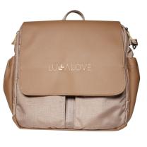 Rjava torba - nahrbtnik Lullalove