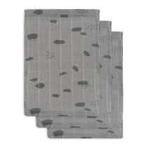 Sive krpice za umivanje PIKE (3 kosi) Jollein®