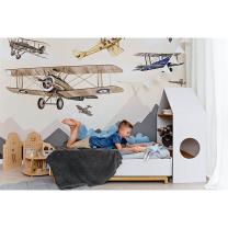 Stenske tapete za otroško sobo LETALA (300x280 cm), Malumi