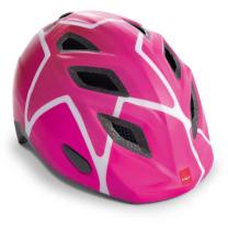 Roza otroška kolesarska čelada ZVEZDA 52-57 MET Genio