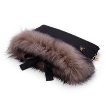 Črna-zlata muf rokavica COTTONMOOSE