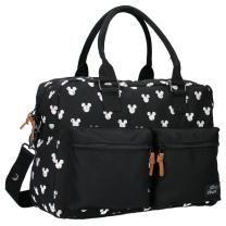 Črna previjalna torba  MICKEY MOUSE Black & White