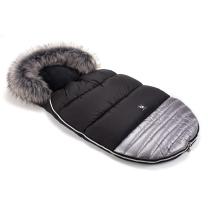 srebrna zimska vreča