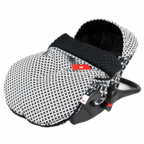 Črna maroko vreča 50x90