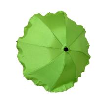 Zelen UV senčnik za voziček