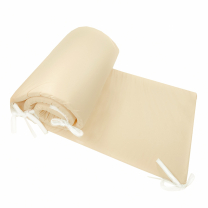 Kompaktna siva obroba za posteljico, 210x30 cm Largo