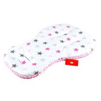 bela-podloga-za-v-voziček-roza-zvezdice
