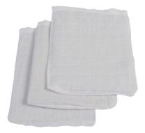 Bele krpice za umivanje 15x21cm (3 kosi) Jollein®