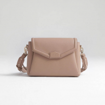 BEŽ torbica za mamice Crossbody MIDI PREMIUM, Joissy