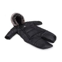 Črn pajac - zimska vreča Moose YUKON (0-6 m), Cottonmoose