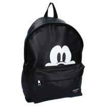 Črn otroški nahrbtnik Mickey Mouse, Get Your Act Together - VELIK, Disney