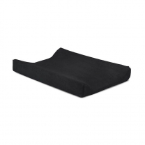 Črna PREVLEKA za previjalno blazino terry 50x70 cm, Jollein®