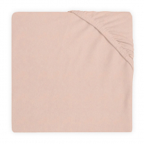 Svetlo roza jogi rjuha 80/90x40 cm, SOFT PINK bombažni jersey, Jollein®