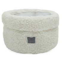 Kremno beli koš za shranjevanje TEDDY, Jollein®