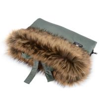 Zelena rokavica za voziček Cottonmoose