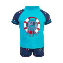 MODRE UV kopalke za dojenčka (velikost 68), Color Kids -majica