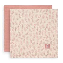 Koralno roza tetra plenica Meadow ROSEWOOD (115x115 cm) – 2 kosa, Jollein®
