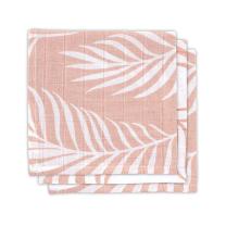 Pudrasto roza krpice za umivanje NATURA (3 kosi) Jollein®