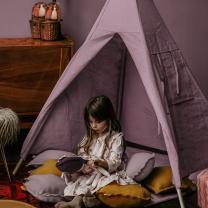 Ledeno vijolični šotor TIPI