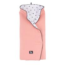 Siva večnamenska odejica za lupinico fi 102 cm, Cottonmoose
