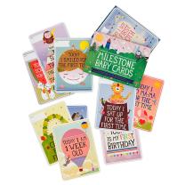 MILESTONE™ kartice za fotografiranje dojenčka ANG - Original