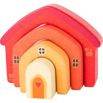 Mini lesena hiška za zlaganje (12 m+), Small Foot