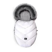 Bela zimska vreča MINI Cottonmoose