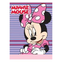 Roza-vijolična odeja Disney 75x100 cm MINNIE MOUSE