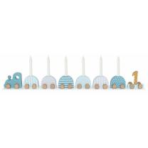 Mint otroški rojstnodnevni vlak - svečnik, Jabadabado