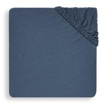 MODRA jogi rjuha 120x60 cm, JEANS BLUE bombažni jersey, Jollein®