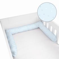 MODRA obroba za posteljico ZVEZDICE 180x10 cm, Herding