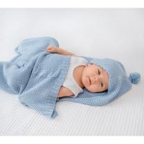 Modra spalna vreča za dojenčke (40x80 cm) LULLALOVE