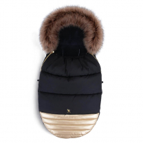 Črna - ZLATA zimska vreča Moose SHINE YUKON, 108x50 cm, Cottonmoose