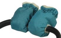 JEANS TURKIZNE muf rokavice za voziček