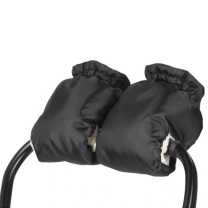 Črne muf rokavice