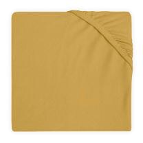 Mustard rumena jogi rjuha 80/90x40 cm, bombažni jersey, Jollein®