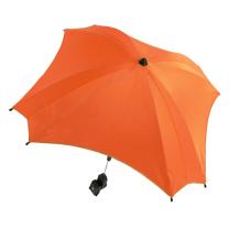 Oranžen UV senčnik za voziček Babymax