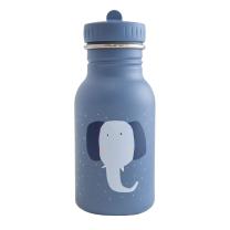 Modra otroška steklenička MRS. ELEPHANT (350 ml), trixie