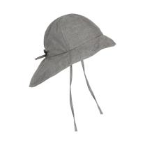 Jeans siv otroški klobuček z UV zaščito (UPF 50+) 1-2 leti, MID GREY MELANGE – En Fant