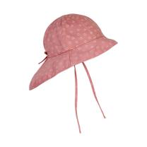Roza otroški klobuček z UV zaščito (UPF 50+) 2-4 leta, ROSETTE SRČKI – En Fant