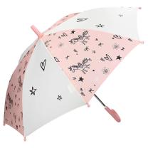 Roza otroški dežnik Fiearless & Cuddle, Kidzroom