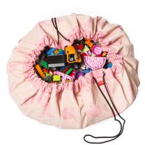 Svetlo ROZA vreča in podloga Play & Go SLON