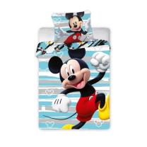 Mint-siva posteljnina Mickey Mouse