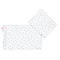 Bela 2-delna posteljnina za zibko REGRATOVE LUČKE 60x75cm Largo