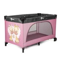 Prenosna posteljica roza Gmini
