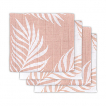 Pudrasto roza plenica NATURA (70X70 cm) – 4 kosi, Jollein®