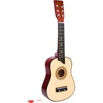 Rjava lesena kitara (3 leta+), Small Foot