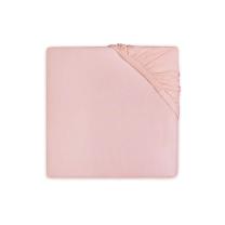 PUDRASTO ROZA jogi rjuha 120x60 cm, SOFT PINK bombažni jersey, Jollein®