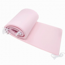 Kompaktna roza obroba za posteljico, 180x30 cm Largo